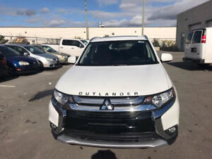 2018 Mitsubishi Outlander4x4  7  seater touring package