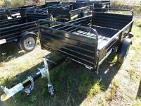 REDUCED -- 2014 4 IN 1 UTILITY DUMP TRAILER  WAS 1595 NOW 1395