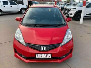 2012 Honda Jazz GE MY12 Vibe Red 5 Speed Automatic Hatchback