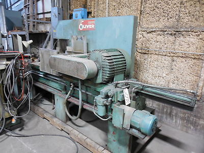 Oliver Cold Saw No. 858-m 52 Dia. Blade Non-ferrous Hyd. Vise 25 Hp26998