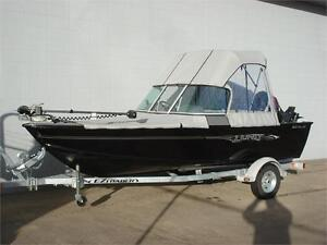 2017 LUND 1625 Fury Sport with 60HP High Output E-Tec