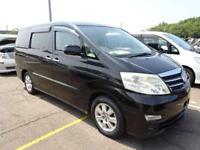 TOYOTA ALPHARD 3.0 MZG ULTIMATE SPEC SEPT 2006 7 LEATHER GRADE 4 IN UK 80,000