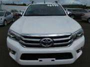 2015 Toyota Hilux GUN126R SR5 Double Cab Glacier White 6 Speed Sports Automatic Utility Atherton Tablelands Preview