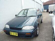 1995 Suzuki Swift EZ Blue 4 Speed Automatic Hatchback Old Guildford Fairfield Area Preview