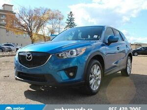 2014 Mazda CX-5 GT AWD - LEATHER - B/U CAM - MOONROOF