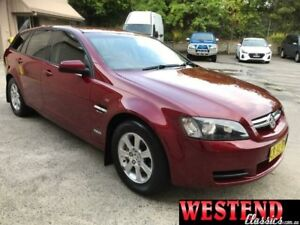 2010 Holden Commodore VE MY10 Omega Burgundy 6 Speed Automatic Sportswagon Lisarow Gosford Area Preview