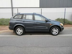 2006 Ssangyong Kyron D100 M320 Grey 5 Speed Sports Automatic Wagon Beverley Charles Sturt Area Preview