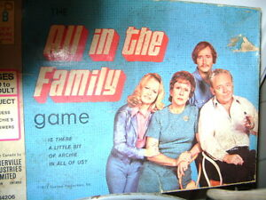 OLD ALL IN THE FAMILY BOARD GAME