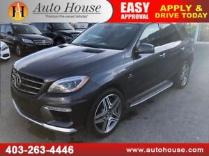 2012 MERCEDES BENZ ML63 AMG NAVI BACKUP CAMERA 2 DVD SCREENS