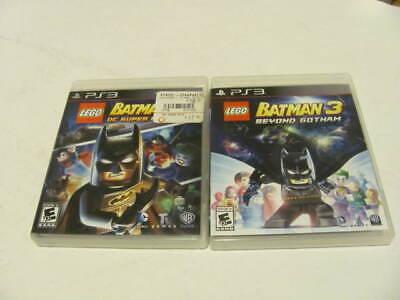 Lego Batman Video games  2 & 3 (2 Game Set) Playstation 3 (PS3) COMPLETE