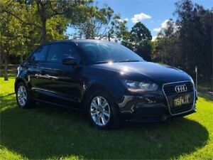 2012 Audi A1 8X MY12 Sport S Tronic Black 7 Speed Sports Automatic Dual Clutch Hatchback Burleigh Heads Gold Coast South Preview