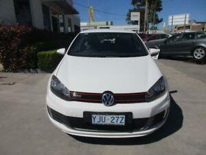 2010 Volkswagen Golf VI MY10 GTi White Auto Dual Clutch Hatchback