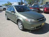 2005 CHEVY OPTRA HATCHBACK $3,950 SAFETY AND WARRANTY
