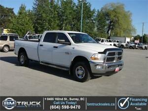 2011 DODGE RAM 3500 SLT CREW CAB LONG BOX 4X4 *DIESEL*
