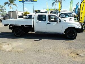 2012 Nissan Navara D40 S5 MY12 ST-X 550 White 7 Speed Sports Automatic Utility Coopers Plains Brisbane South West Preview