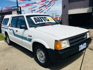 1991 Mazda B2200 DLX White 4 Speed Automatic Dual Cab Pickup Brooklyn Brimbank Area Preview