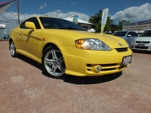 2004 Hyundai Tiburon GK V6 Sunny Yellow 6 Speed Manual Coupe Hyde Park Townsville City Preview