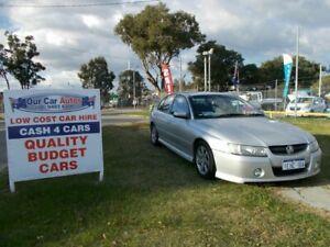2005 Holden Commodore VZ SV6 Silver 5 Speed Auto Active Select Sedan Maddington Gosnells Area Preview