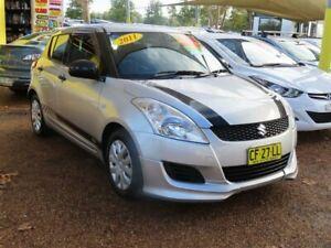 2011 Suzuki Swift FZ GA Silver 4 Speed Automatic Hatchback Minchinbury Blacktown Area Preview