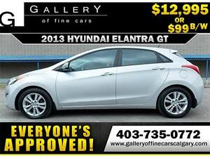 2013 Hyundai Elantra GT GLS $99 bi-weekly APPLY NOW DRIVE NOW