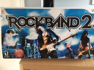 Rockband 2 édition spéciale WII