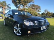 2006 Mercedes-Benz C180 Kompressor W203 MY2006 Classic Black 5 Speed Automatic Sedan Somerton Park Holdfast Bay Preview