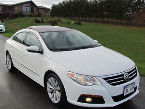 2010 VW Passat CC:LOADED! SUNROOF! HEATED LEATHER! FREE WARRANTY