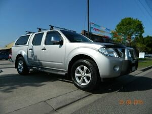 2010 Nissan Navara D40 ST-X Silver 5 Speed Automatic Dual Cab Williamstown North Hobsons Bay Area Preview
