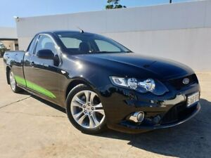 2008 Ford Falcon FG XR6 Ute Super Cab Black 6 Speed Manual Utility Medindie Walkerville Area Preview