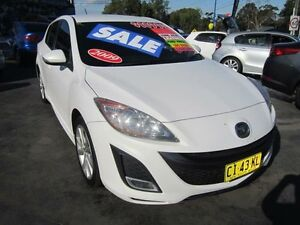 2009 Mazda 3 BL SP25 White 6 Speed Manual Hatchback Greenacre Bankstown Area Preview