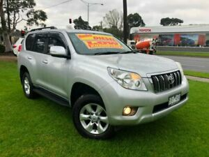 2010 Toyota Landcruiser Prado KDJ150R GXL Silver 5 Speed Sports Automatic Wagon Ferntree Gully Knox Area Preview