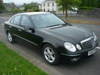 Mercedes E Class E220 2.1CDI 170BHP AVANTGARDE **High Spec Model** (black) 2007
