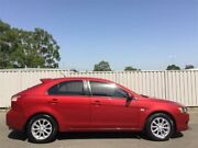 2010 Mitsubishi Lancer CJ MY11 SX Sportback Burgundy 6 Speed CVT Auto Sequential Hatchback Blacktown Blacktown Area Preview