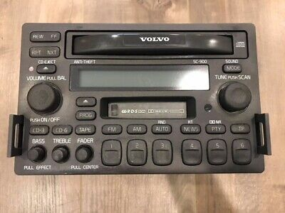 1998-2004 Volvo C70 S70 V70 V70R SC-900 SC-901 Radio Stereo CD Head Unit OEM