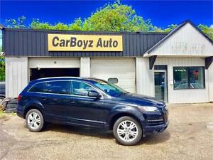 2011 Audi Q7 3.0L TFSI Premium Plus, local MB trade in, low km