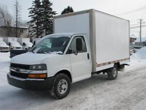 CHEV EXPRESS 2004 CUBE 12 PIEDS SIMPLE ROUE FINANCEMENT FACILE