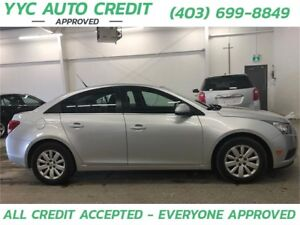 2011 Chevrolet Cruze LT Turbo w/1SA *$99 DOWN EVERYONE APPROVED*