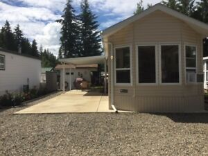 Beautiful Lot and Park Model For Sale in Caravan's West BC