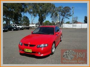 2001 Holden Commodore VX SS Red 4 Speed Automatic Sedan Warwick Farm Liverpool Area Preview