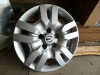 """2012 Nissan Altima 16"""" Bolt on Factory Hubcaps (2)"""