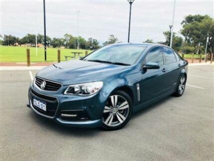 2014 Holden Commodore VF SS Blue 6 Speed Automatic Sedan