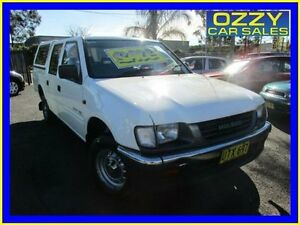 1997 Holden Rodeo TFG6 LX White 4 Speed Automatic Crewcab Minto Campbelltown Area Preview