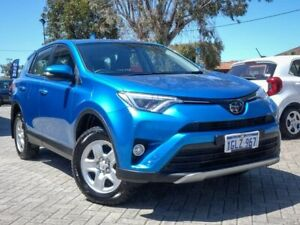 2018 Toyota RAV4 ASA44R GX AWD Blue 6 Speed Sports Automatic Wagon Morley Bayswater Area Preview