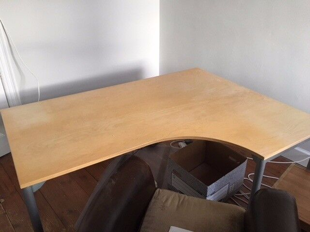Good condition Corner Right office desk from IKEA. A real snip