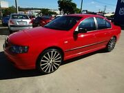 2003 Ford Falcon BA XT Red 4 Speed Auto Seq Sportshift Sedan Oxley Brisbane South West Preview