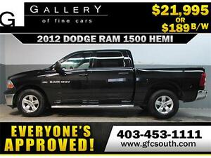 2012 DODGE RAM HEMI CREW *EVERYONE APPROVED* $0 DOWN $189/BW!