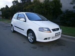 2008 Holden Barina TK MY08 White 5 Speed Manual Hatchback South Windsor Hawkesbury Area Preview