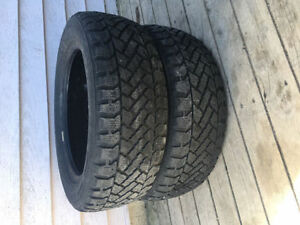 Two 195/60R15 Winter Tires