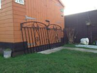 Lovely Heavy Duty Garden Gates Solid Steel Only £45 For Both