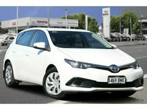2016 Toyota Corolla ZRE182R Ascent S-CVT Glacier White 7 Speed Constant Variable Hatchback Adelaide CBD Adelaide City Preview